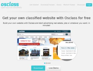 postads.osclass.org screenshot