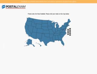 postalexam.org screenshot