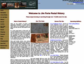 postalhistory.com screenshot