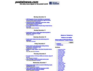 postalnews1.blogspot.com screenshot
