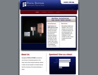postalsystemspro.com screenshot
