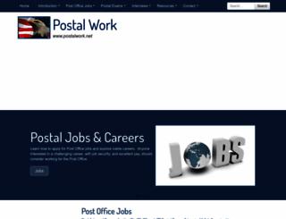 postalwork.net screenshot