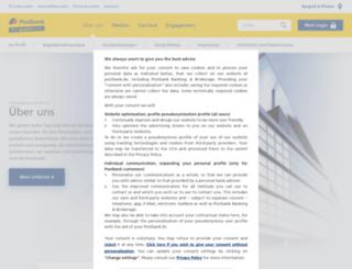 postbank.com screenshot