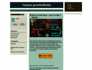 postbulletin.typepad.com screenshot
