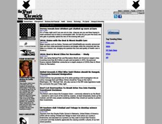 postchronicle.com screenshot