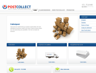 postcollect.nl screenshot