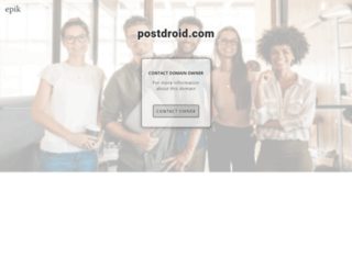 postdroid.com screenshot