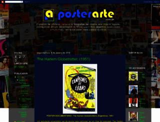 posterarte-blog.blogspot.com.br screenshot