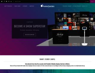 postergarden.com screenshot