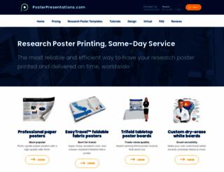 posterpresentations.com screenshot