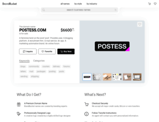 postess.com screenshot