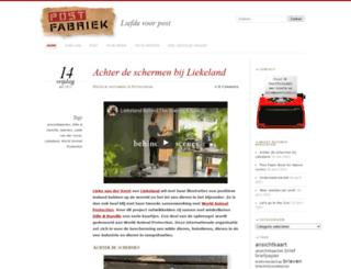 postfabriek.nl screenshot