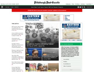 postgazette.com screenshot