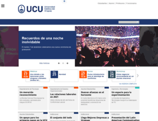 postgrado.ucu.edu.uy screenshot