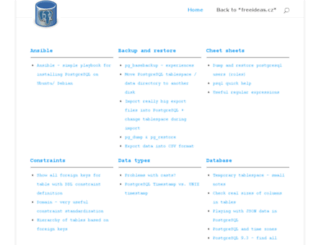 postgresql.freeideas.cz screenshot