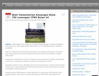 postinganasal.wordpress.com screenshot