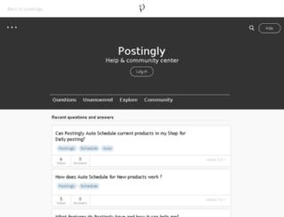 postingly.haaash.com screenshot