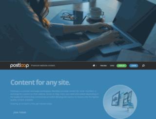 postloop.com screenshot