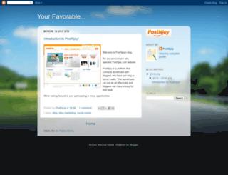 postnjoy.blogspot.com screenshot