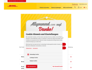 postpay.de screenshot