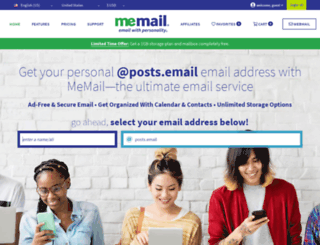 posts.email screenshot