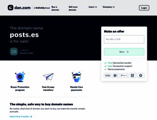 posts.es screenshot