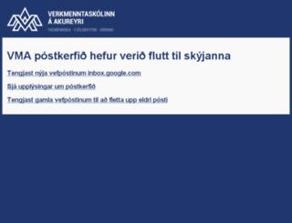 postur.vma.is screenshot