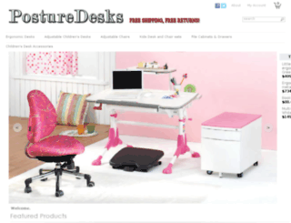 posturedesks.com screenshot