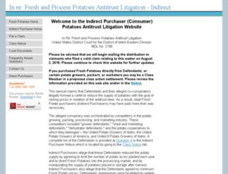 potatoesindirectpurchaseaction.com screenshot