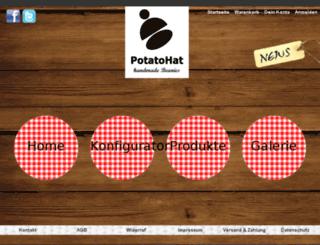 potatohat.de screenshot