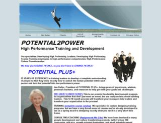 potential2power.com screenshot