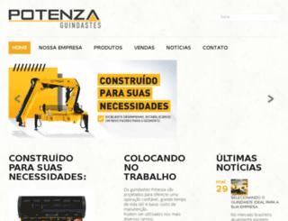potenzaguindastes.com.br screenshot