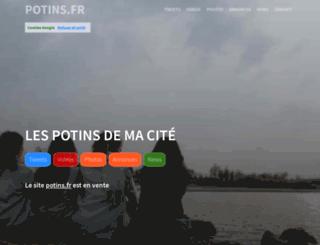 potins.fr screenshot