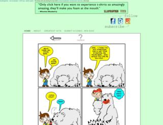 potluckcomics.com screenshot