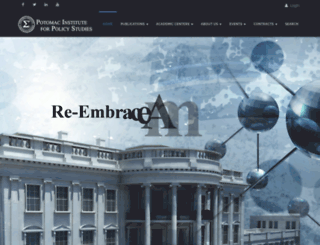 potomacinstitute.com screenshot