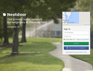 potomacyard.nextdoor.com screenshot
