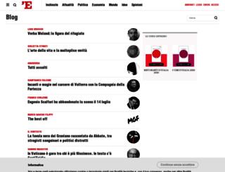 potoniere.blogautore.espresso.repubblica.it screenshot