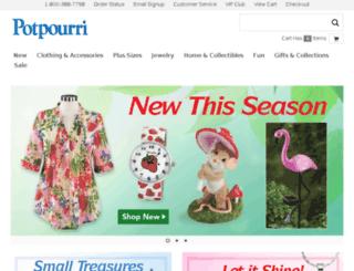 potpourrigift.com screenshot