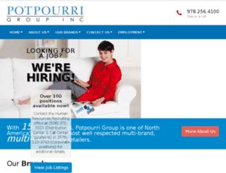 potpourrigroup.com screenshot