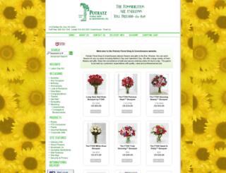 potratzfloral.com screenshot