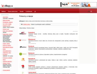potraviny-a-napoje.eshopy.sk screenshot