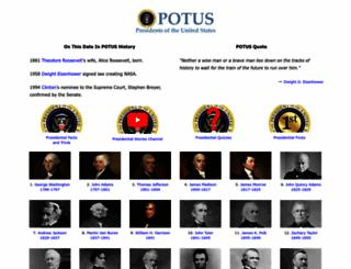 potus.com screenshot