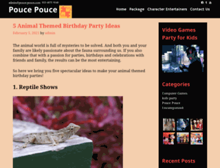 pouce-pouce.com screenshot