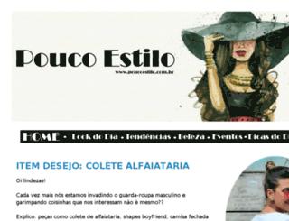 poucoestilo.com.br screenshot