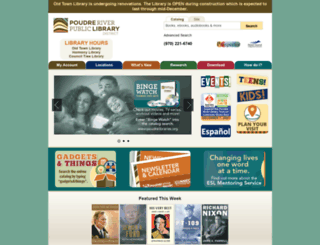 poudrelibraries.org screenshot