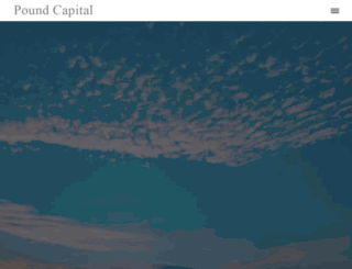 poundcapital.com screenshot