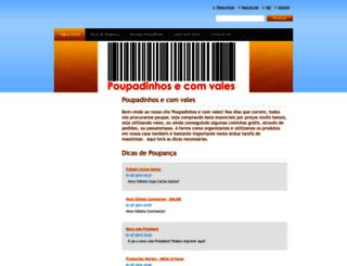 poupadinhosecomvales-com.webnode.pt screenshot
