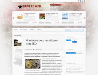 pour-le-web.com screenshot
