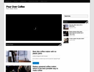 pouringovercoffee.com screenshot