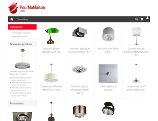 pourmamaison.com screenshot